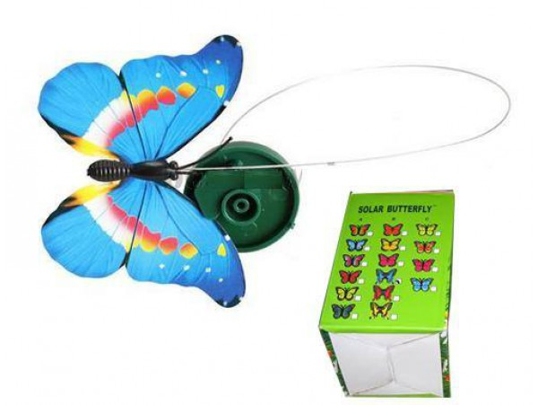 Trendy Solar Powered Butterfly