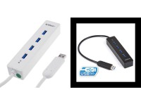 4-Port USB 3.0 Portable Hub