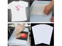 Heat Transfer Paper for Light Garments 10pcs