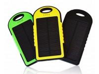 Waterproof Solar Power Bank 5000Mah