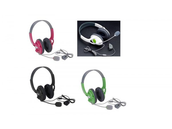 Xbox 360 Headset with Voice & Noise Cancellation