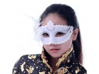 White Masquerade Mask