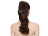 Dark Black Ponytail Hair Extension 18""