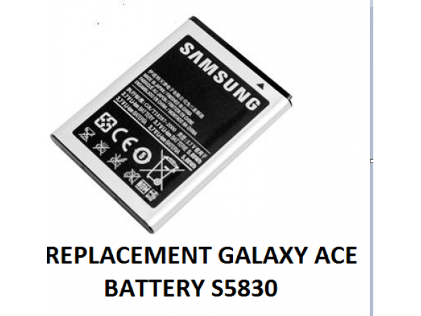 Samsung Galaxy Ace Battery Replacement
