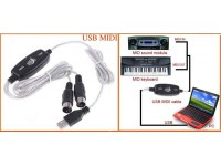 USB to MIDI Cable